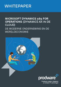 Whitepaper Microsoft Dynamics 365 for Operations