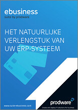 Brochure Prodware eBusiness Suite