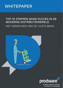 Whitepaper top 10 stappen naar succes in de moderne distributiewereld