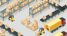 Infographic Warehouse Management met Microsoft technologie voor distributeurs