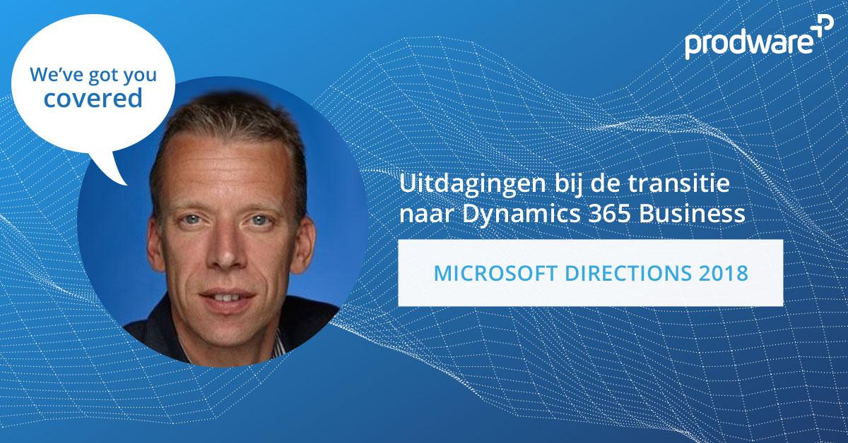 Uitdagingen bij de transitie naar Dynamics 365 Business Central