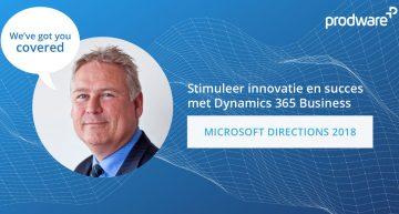 Stimuleer innovatie en succes met Dynamics 365 Business Central