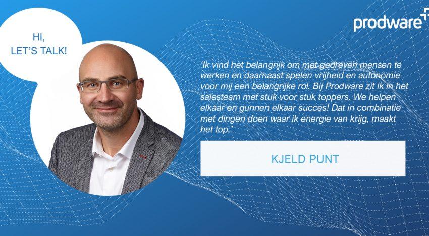 Drie keer voor Nederland uitgekomen tijdens de Paralympics en nu onderdeel van ons Sales team: Kjeld Punt.