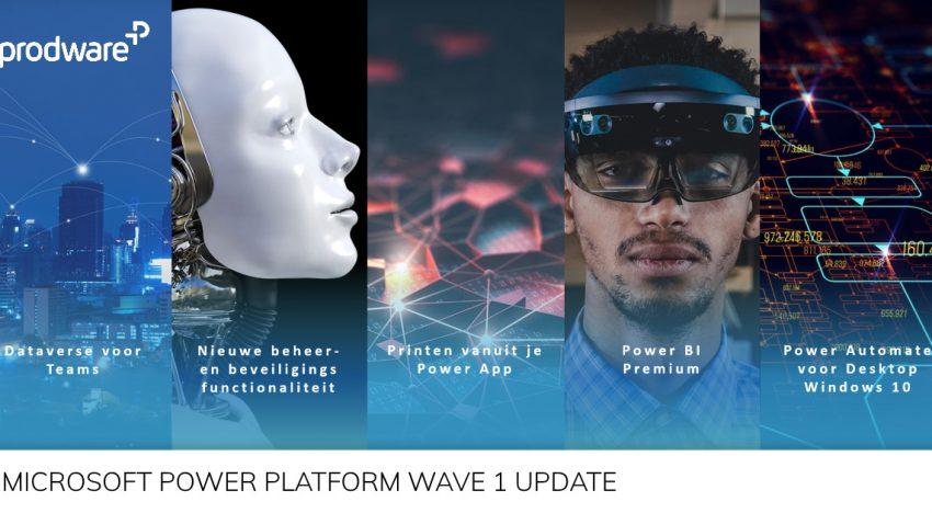 Wat betekent Wave 1 voor het Microsoft Power Platform